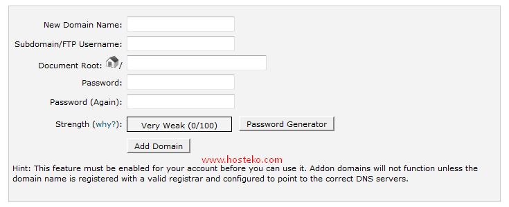addon domain 2