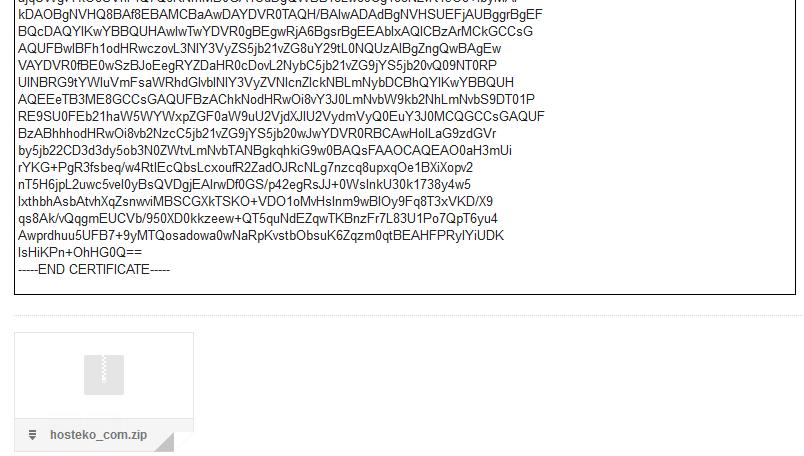 kode sertifikat ssl