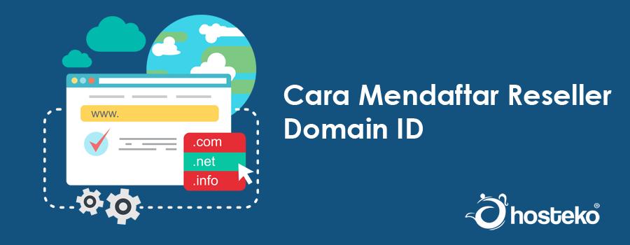 Cara Mendaftar Reseller Domain ID - HOSTEKO