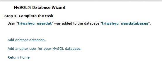 database mysql 5