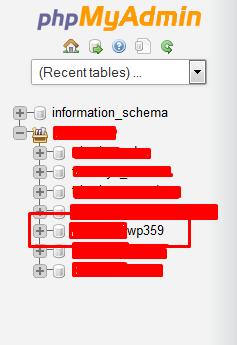 pilih database